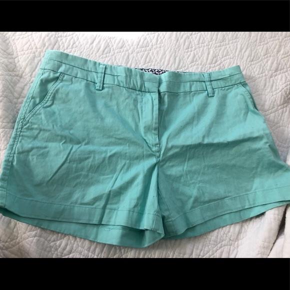 Cambridge Pants - Mint shorts